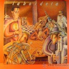 Discos de vinilo: QUE VAMOS A HACER ... - JOSE ANTONIO LABORDETA - FONOMUSIC - LETRAS DE LAS CANCIONES - 1987 - LP .... Lote 38882597