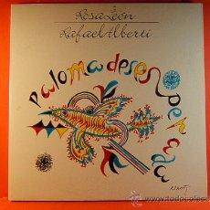 Discos de vinilo: PALOMA DESESPERADA - ROSA LEON Y RAFAEL ALBERTI -ION BMG ARIOLA -LETRAS CANCIONES- 1989 - DOS LP .... Lote 38883386