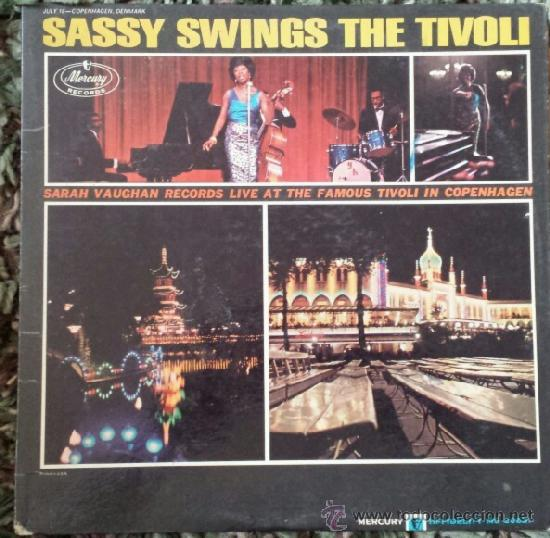 Discos de vinilo: SARAH VAUGHAN / sassy swings the tivoli 1962 !! quicy jones !! great jazz album, ORIG. EDIT. USA, ex - Foto 1 - 86063356