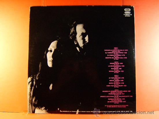 Discos de vinilo: OLGA MANZANO Y MANUEL PICON - CARAVALLO MATO UN GALLO, MACHUPICHU,... -MOVIE PLAY- 1981 - DOS LP... - Foto 2 - 38895233
