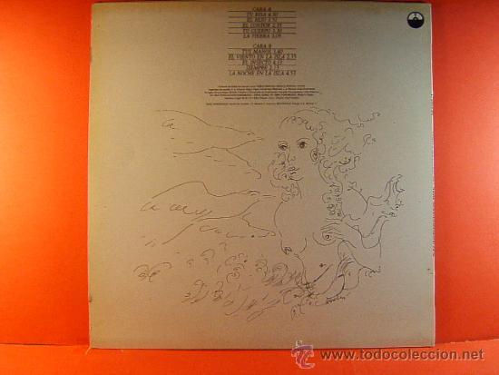 Discos de vinilo: LOS VERSOS DEL CAPITAN - PABLO NERUDA - OLGA MANZANO Y MANUEL PICON - FONOMUSIC GONG - 1984 - LP ... - Foto 2 - 38895248