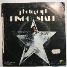 Discos de vinilo: SINGLE - RINGO STARR -DOWN AND OUT - EDITADO ODEON - 1973 - ESPAÑA. Lote 38898407