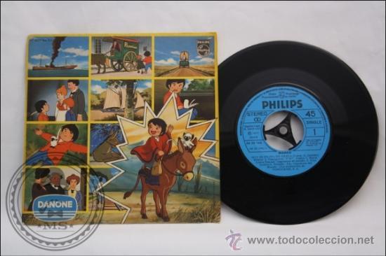 SINGLE - DANONE - EDITADO PHILIPS - 1977 - ESPAÑA (Música - Discos - Singles Vinilo - Música Infantil)