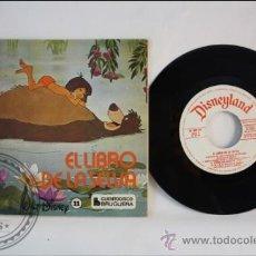 Discos de vinilo: SINGLE - WALT DISNEY - EL LIBRO DE LA SELVA - EDITADO BRUGERA - 1968 - ESPAÑA - CUENTO. Lote 38902952