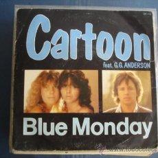 Dischi in vinile: CARTOON BLUE MONDAY. Lote 38904545