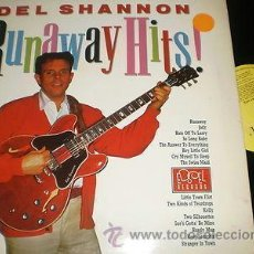 Discos de vinilo: ROCK'N'ROLL LP DEL SHANNON - RUNAWAY HITS EDSEL 121 ORIG UK VG+/VG++. Lote 38907730