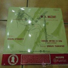 Discos de vinilo: DISCO W.A MOZART ORQUESTA SINFONICA DE VIENA CONCIERTO PARA CLARINETE,1. Lote 38912307