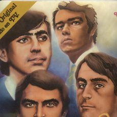 Dischi in vinile: LP DOBLE + PORTADA DOBLE 33 RPM / LOS BRINCOS / AMBUM DE ORO /// EDITADO POR ZAFIRO . Lote 38914553