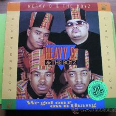 Discos de vinilo: HEAVY D. & THE BOYZ - WE GOT OUR OWN THANG . MAXI SINGLE . 1989 MCA RECORDS. Lote 38920080