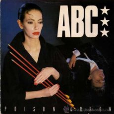 Discos de vinilo: ABC - POISON ARROW / THEME FROM MAN-TRAP (SINGLE 45 RPM). Lote 38921522