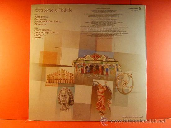 Discos de vinilo: MOUSTAKI & Y FLAIRCK - GEORGES MOUSTAKI - MARTA CONTRERAS-POLYDOR FOCO- POEN DE WIJS - 1982 - LP ... - Foto 2 - 38922156