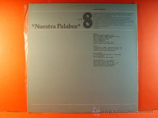 Discos de vinilo: EL CHILE DE PABLO NERUDA - RECITA -1ª Y 2º PARTE COMPLETO - DICAP MOVIE PLAY GONG - 1977 - DOS LP... - Foto 3 - 38922467