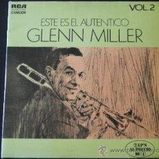 Discos de vinilo: ESTE EL AUTÉNTICO GLENN MILLER. Lote 38923779
