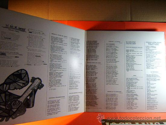 Discos de vinilo: CANTAN A CHILE - VIOLETA PARRA,ISABEL Y ANGEL PARRA,LOS CALCHAKIS - CBS ARION - 1974 - LP ... - Foto 2 - 38923959