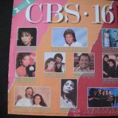 Discos de vinilo: RECOPILATORIO CBS 16. Lote 38924031