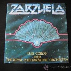 Discos de vinilo: ZARZUELA LUIS COBOS. Lote 38924070