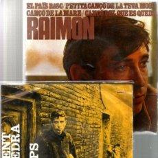Discos de vinilo: 2 HISTORICOS EP´S DE RAIMON : AL VENT + EL PAIS BASC. Lote 38925054