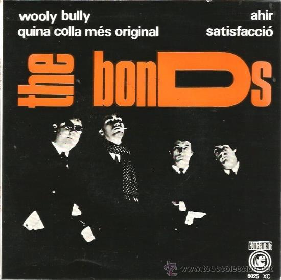 EP THE BONDS : WOOLY BULLY (INCLUYE TEMA DE THE BEATLES Y TEMA DE ROLLING STONES, EN CATALAN ) (Música - Discos de Vinilo - EPs - Grupos Españoles 50 y 60)