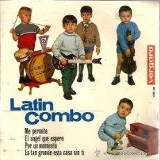 Discos de vinilo: EP LATIN COMBO : ME PERMITE . Lote 38930978