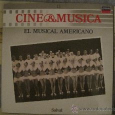 Discos de vinilo: CINE Y MUSICA SALVAT Nº 13. EL MUSICAL AMERICANO . Lote 38932238