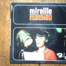 Discos de vinilo: MIREILLE MATHIEU - ADIEU A LA NUIT + 3. Lote 38956040