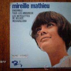 Discos de vinilo: MIREILLE MATHIEU - ENSEMBLE + 3 . Lote 38956120