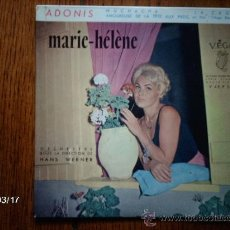 Discos de vinilo: MARIE-HELENE - ADONIS + 3. Lote 38962317
