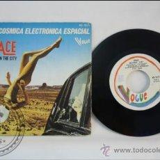 Discos de vinilo: SINGLE - SPACE - RUNNING IN THE CITY - EDITADO HISPAVOX - ESPAÑA. Lote 38935279