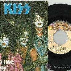 Discos de vinilo: KISS SINGLE TALK TO ME ESPAÑA 1980. Lote 38936001