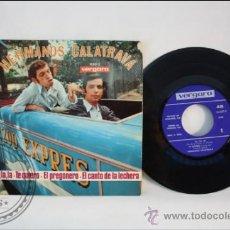 Discos de vinilo: SINGLE - LOS HERMANOS CALATRAVA - LA LA LA - EDITADO VERGARA - 1968 - ESPAÑA. Lote 38936095