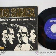 Discos de vinilo: SINGLE - LOS SIREX - TUS RECUERDOS - EDITADO VERGARA - 1967 - ESPAÑA. Lote 38936138