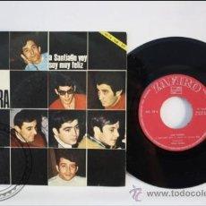 Discos de vinilo: SINGLE - LOS TAMARA - A SANTIAGO VOY - EDITADO VERGARA - 1967 - ESPAÑA. Lote 38936580