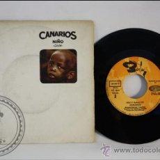 Discos de vinilo: SINGLE - LOS CANARIOS - NIÑO - EDITADO SONO PLAY - 1968 - ESPAÑA. Lote 38937295