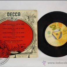 Discos de vinilo: ORQUESTA SINFONICA DE LONDRES - DANSA HUNGARA - EDITADO DECCA - 1963 - ESPAÑA. Lote 38938085