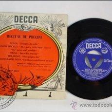Discos de vinilo: MARIO DEL MONACO - RECITAL DE PUCCINI - EDITADO DECCA - ESPAÑA. Lote 38938098