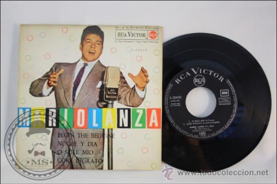 MARIO LANZA - BEGIN THE BEGUINE - EDITADO RCA VICTOR - 1962 - ESPAÑA (Música - Discos - Singles Vinilo - Grupos Españoles 50 y 60)