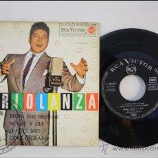 Discos de vinilo: MARIO LANZA - BEGIN THE BEGUINE - EDITADO RCA VICTOR - 1962 - ESPAÑA. Lote 38939533