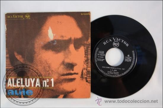 AUTE - ALELUYA Nº 1 - EDITADO RCA VICTOR - 1967 - ESPAÑA (Música - Discos - Singles Vinilo - Solistas Españoles de los 50 y 60)