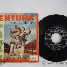 Discos de vinilo: RUDY VENTURA Y SUS CONJUNTO - UNA CASETA - EDITADO COLUMBIA - 1960 - ESPAÑA. Lote 38939676