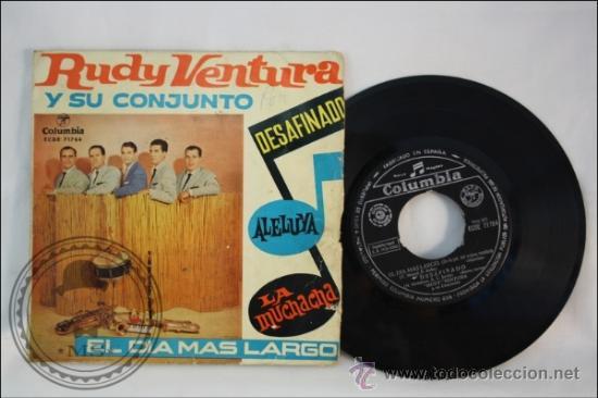 RUDY VENTURA Y SU CONJUNTO - EDITADO COLUMBIA - 1962 - ESPAÑA (Música - Discos - Singles Vinilo - Grupos Españoles 50 y 60)