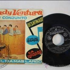 Discos de vinilo: RUDY VENTURA Y SU CONJUNTO - EDITADO COLUMBIA - 1962 - ESPAÑA. Lote 38939904