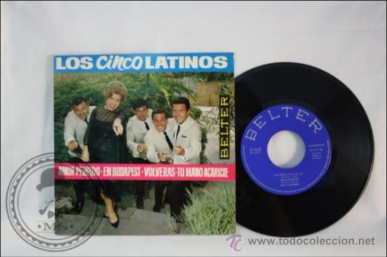 LOS 5 LATINOS - AMOR PERDIDO - EDITADO BELTER - 1964 - ESPAÑA (Música - Discos - Singles Vinilo - Grupos Españoles 50 y 60)