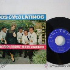 Discos de vinilo: LOS 5 LATINOS - AMOR PERDIDO - EDITADO BELTER - 1964 - ESPAÑA. Lote 38940349