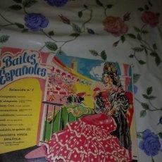 Discos de vinilo: BAILES ESPAÑOLES. SELECCIÓN Nº 1 CAMPANERA. EL CHIQUITIN. SANTA CRUZ- TORREMOLINOS- C5V. Lote 38941727