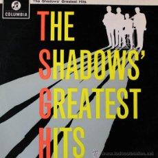 Discos de vinilo: THE SHADOWS 'GREATEST HITS' LP COLUMBIA, 1962. ORIGINAL INGLES.. Lote 38943641