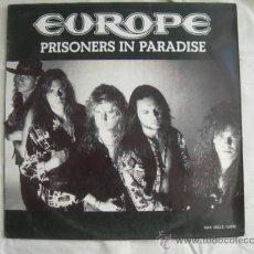 Discos de vinilo: MAXI EUROPE // PRISIONERS IN PARADISE. Lote 38946959
