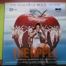 Discos de vinilo: THE POWER OF ROCK...IN 1994.-THE APPLE.-THE ORIGINAL SOUNDTRACK OF THE MUSICAL FILM.1980.- PEPETO. Lote 38948211