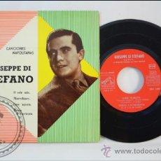 Discos de vinilo: GIUSEPPE DI STEFANO - CANCIONES NAPOLITANAS - LA VOZ DE SU AMO - 1958 - ESPAÑA. Lote 38950531
