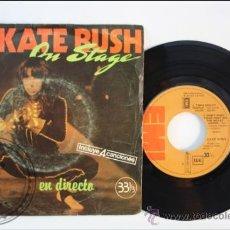 Discos de vinilo: KATE BUSH - ON STAGE - EMI - 1979 - ESPAÑA. Lote 38951418