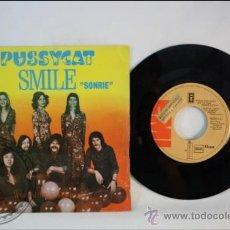 Discos de vinilo: PUSSYCAT - SMILE - EMI - 1977 - ESPAÑA. Lote 38951454